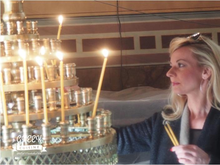 Kerzen in der Kirche, Symbol