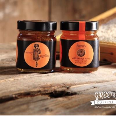 Honig mit Orangengeschmack, greek-cuisine.com