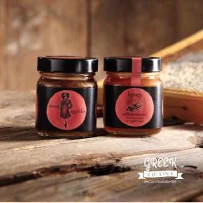 Honig mit Zimtgeschmack, greek-cuisine.com