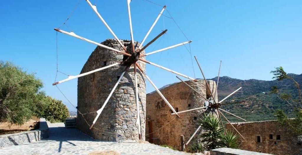 Windmühlen auf Kreta Artischocken ► | GREEKCUISINEmagazin