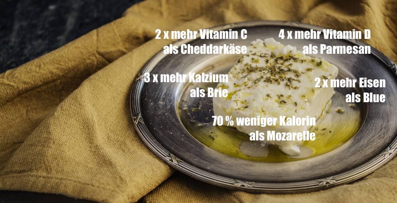 Griechischer Fetakäse ist nie aus Kuhmilch gemacht.