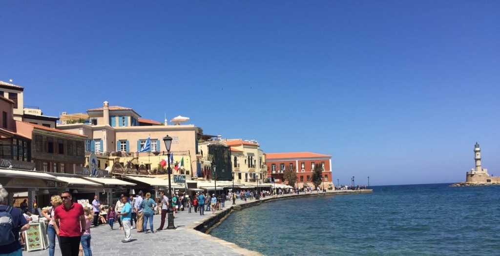Hafenstadt Chania auf Kreta