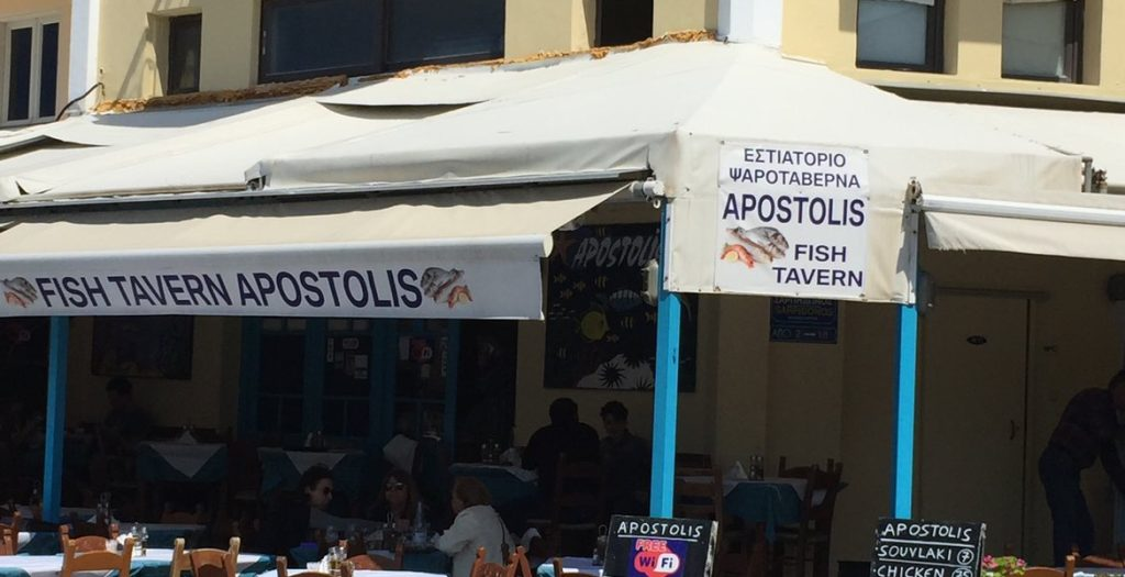 Tavernen in Chania,