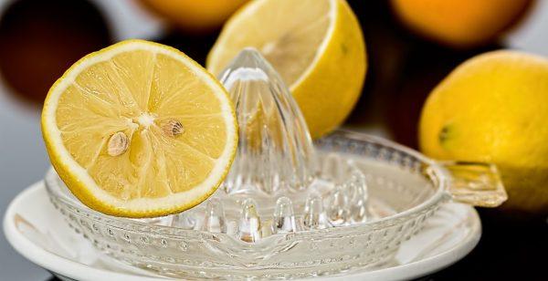 Zitronen für das Rosmarinkartoffelnrezept