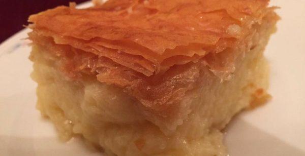 Galaktoboureko, ein griechischer Nachtisch