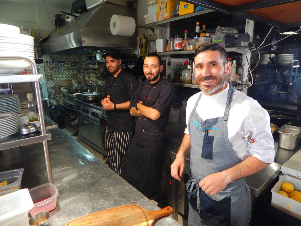 Restaurant Orizontas auf Samos