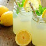 Honig mit Zitrone Erfrischung