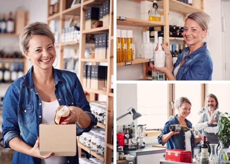 Produkte aus dem Gourmet Manufactory Shop