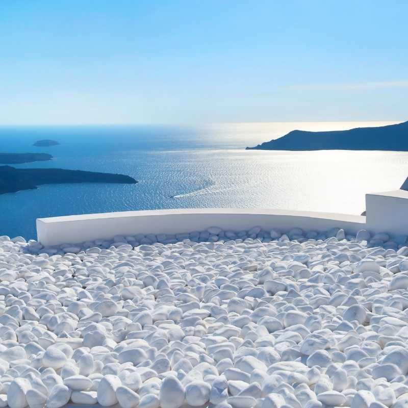 Blick aufs Meer ► Hotelzimmerblick | GREEKCUISINEmagazine