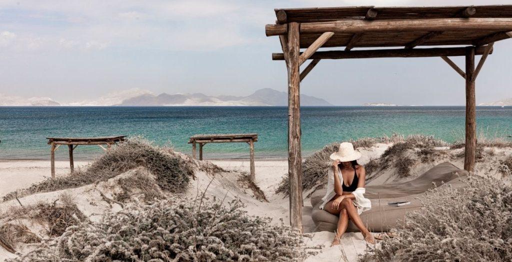 OKU Kos Barfussleben ► Strandabschnitt | GREEKCUISINEmagazine